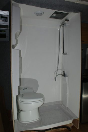 shower tray campervan - Google Search