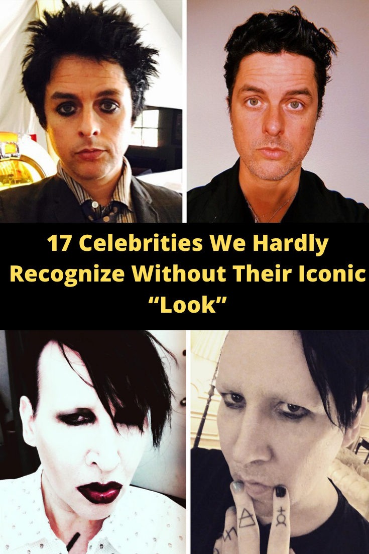 17 Celebrities We Hardly Recognize Without Their Iconic Look In 2020 Celebrities Cute Jokes Bizarre Pictures