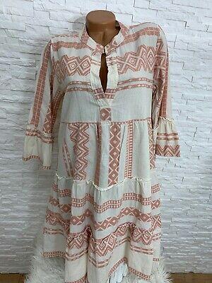 Traumhaftes Baumwolle Mix oversize Hängerchen-Kleid /long ...