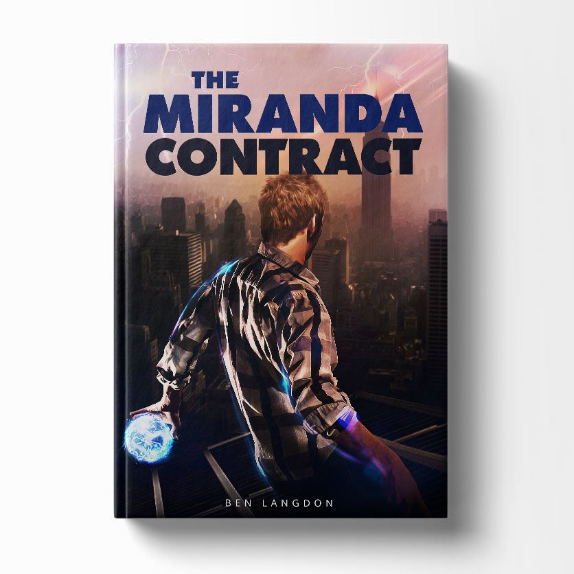 Book cover design of the book