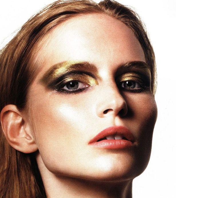Metallic and gold Look -look4trends