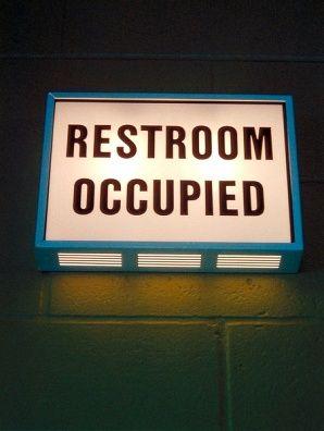 Restoom Occupied Light Up Sign Light Up Signs Sign Lighting Restroom