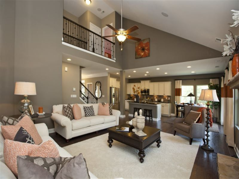 Townhouse Family Room Ideas Part - 48: Jasper Single Family Home Floor Plan In Waxhaw, NC | Ryland Homes