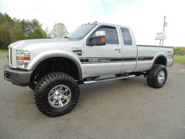 Www Emautos Com Lifted 2008 Ford F 250 Super Duty Fx4 Extended Cab