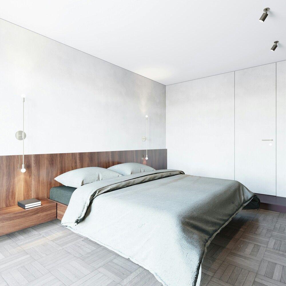 56 sqm Apartment by Lera Brumina Home bedroom