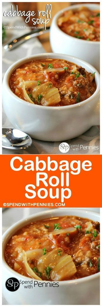 381 Easiest Way To Prepare Tasty Instant Pot Cabbage Sausage Soup: Cabbage Roll Soup Is My Favorite Way To Enjoy Cabbage
