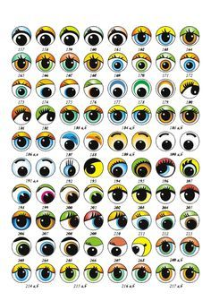 Ojos De Fofuchas Para Imprimir Pintura De Rosto Olhos