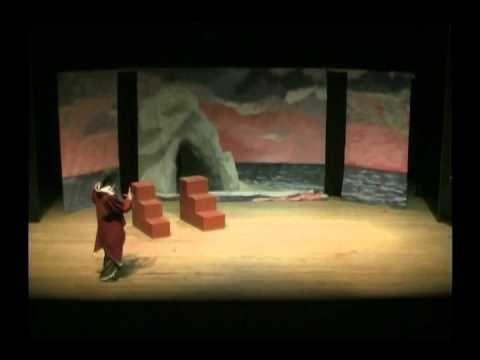 A TEMPESTADE_Willian Shakespeare Minha filha Interpreta Antônio