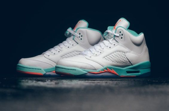 396ddafb4b4775 Are You Copping The Air Jordan 5 GS Light Aqua