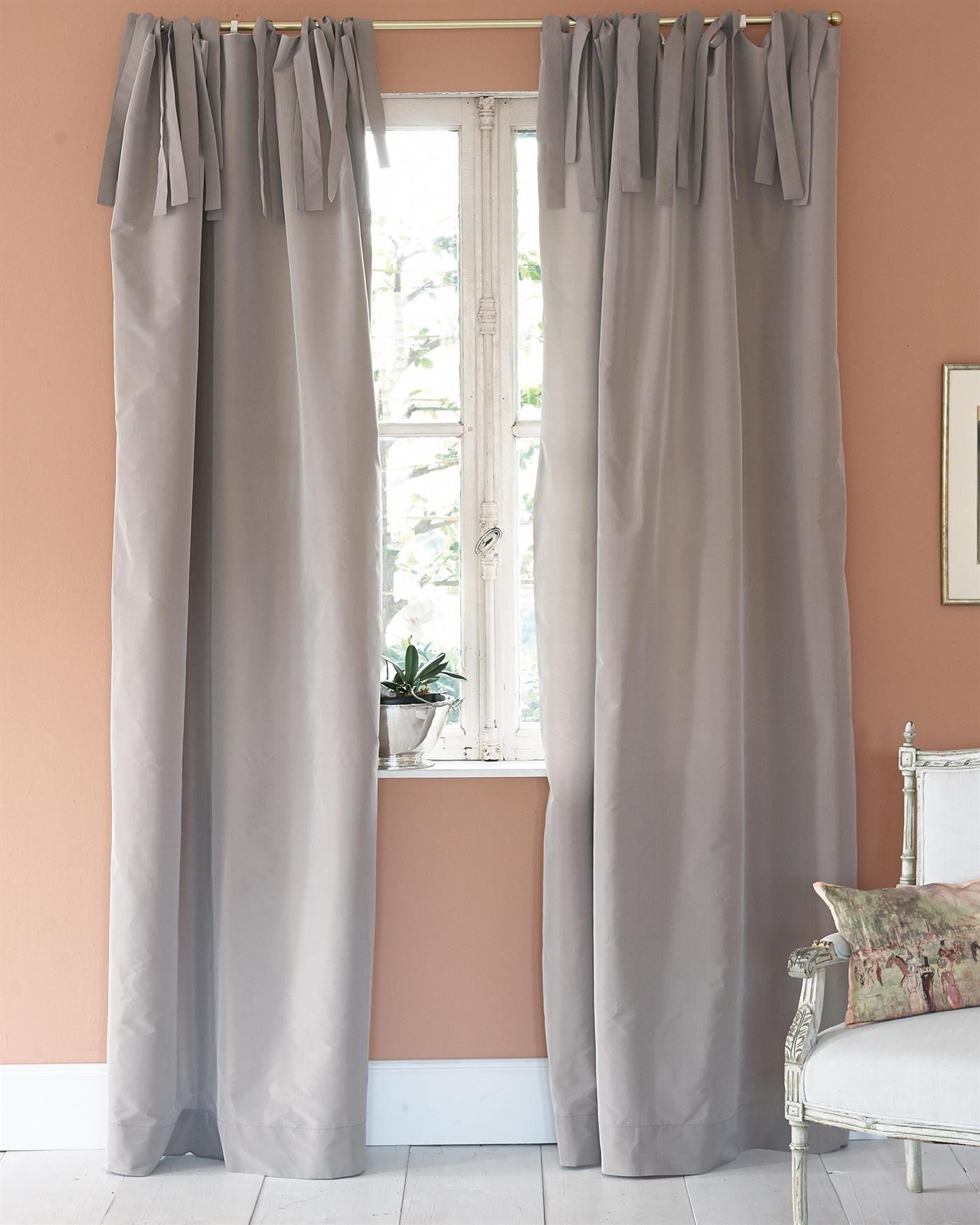 Vossberg Gardinen vorhang mauve faux silk finden sie auf vossberg de neue
