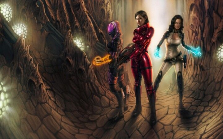 Futuristic Women Warriors