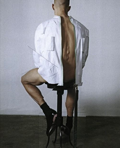 'Let England Shake' by Bruna Kazinoti for Arena Homme, s/s 2011.