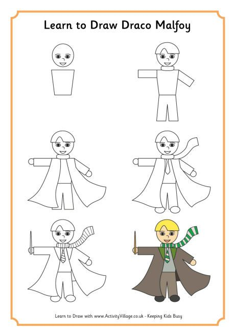 Learn To Draw Draco Malfoy Mom And Sons Likes