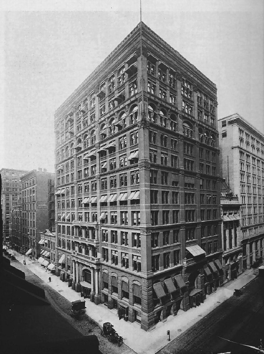 Home Insurance Building Chicago 1885 Arquitectura Romana