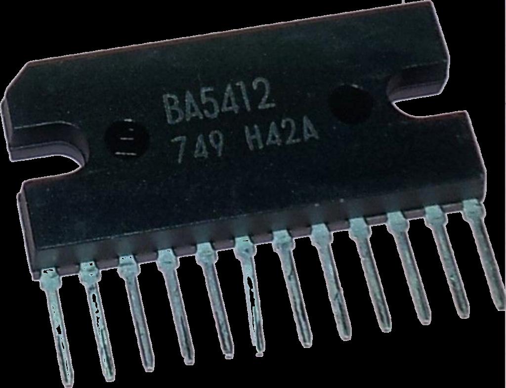 Ba5412 integrated circuit sip-12 | Intergrated Circuits I C