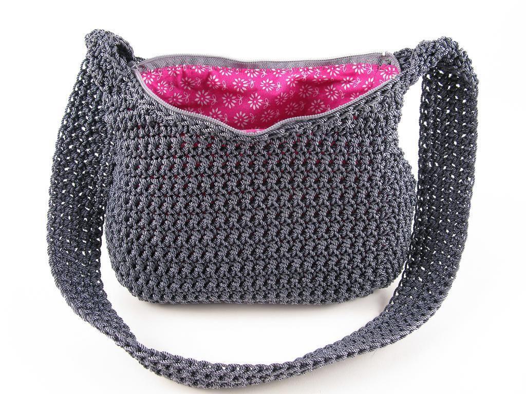Crochet Nylon Purse Pattern   Crochet, Patterns and Crocheted bags