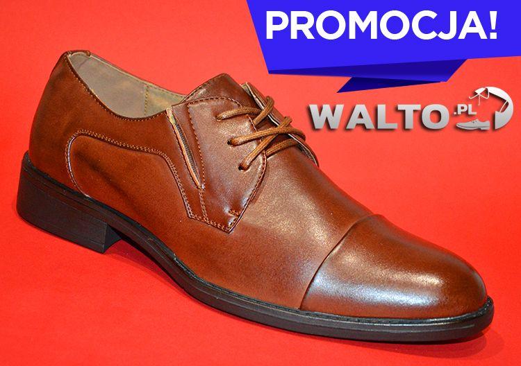 Polbuty Meskie Buty Brazowe Avenn Dress Shoes Men Oxford Shoes Dress Shoes