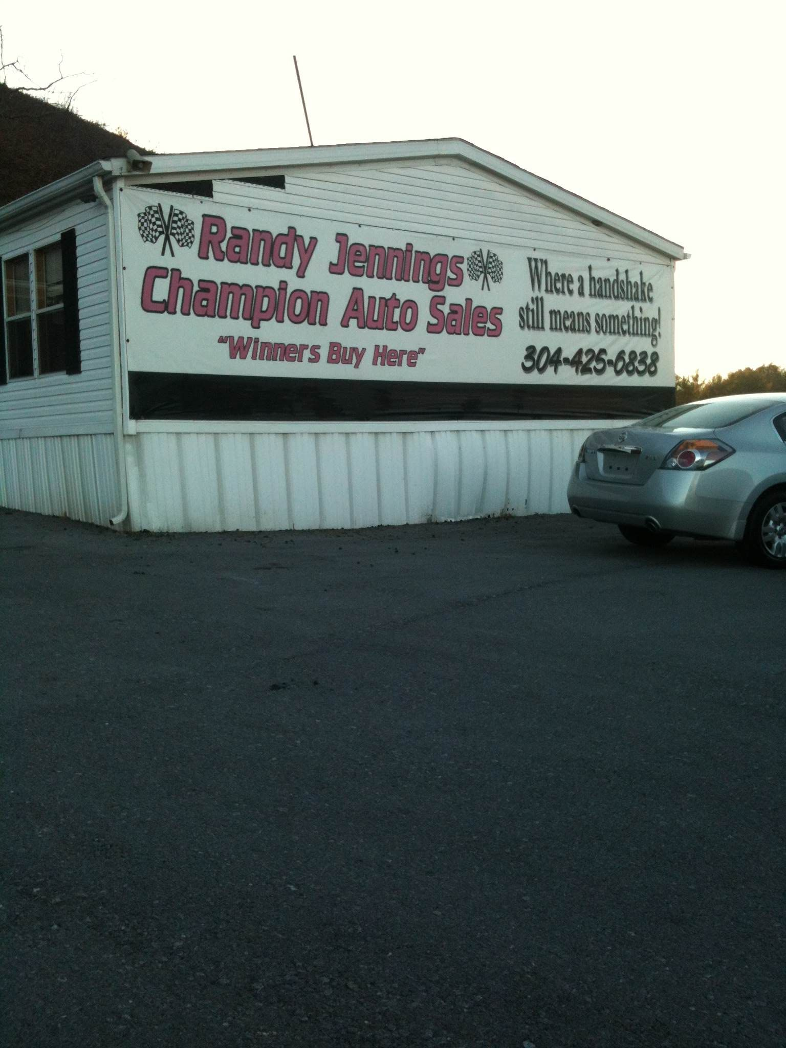 Champion PreOwned Auto Sales has been in business for 12