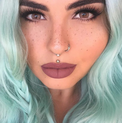 Did you know that the nose is the favorite place for women to get a piercing? #nose #nosepiercing #nostrilpiercing #nostrilnosepiercing #girlsfun #fashion #piercings #girlspiercings #crazyforus #followforfollowback