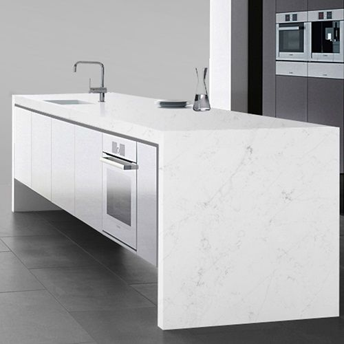 New Carrara Quartz Slab | Arizona Tile | Home Decor in 2019