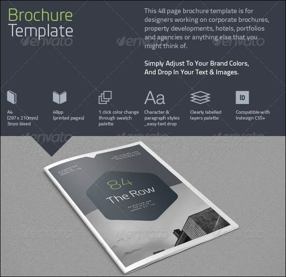Free Premium Brochure Mock Ups Brochure Template - Company brochure templates free download