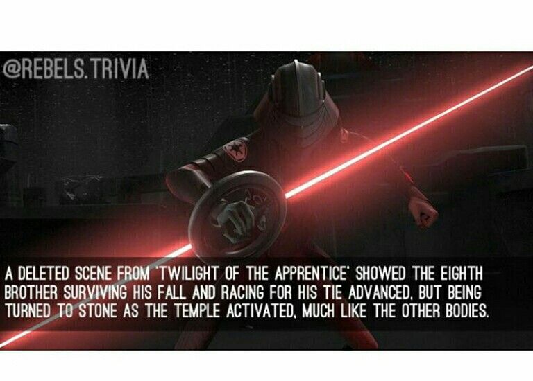 Star Wars Rebels Fact And The Destiny Of The Unknown Inquisitor Ultimate Star Wars Star Wars Awesome Star Wars Humor