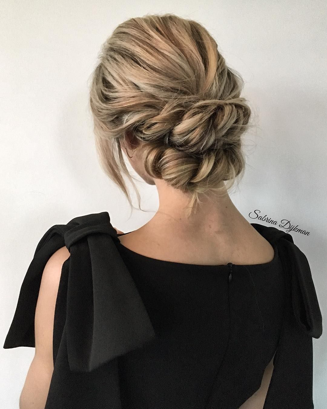 The updo twisted rare photo