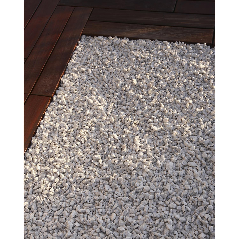 Acheter Gravier Pour Allée graviers en marbre concassé, blanc, 8/16 mm, 1 t naterial