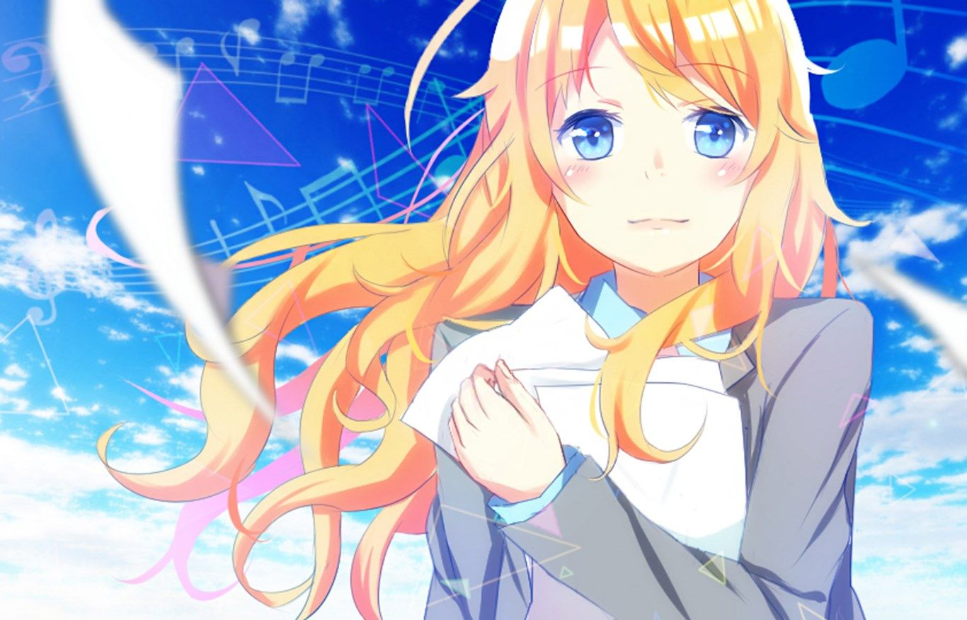 your lie in april to download Your lie in april, Anime