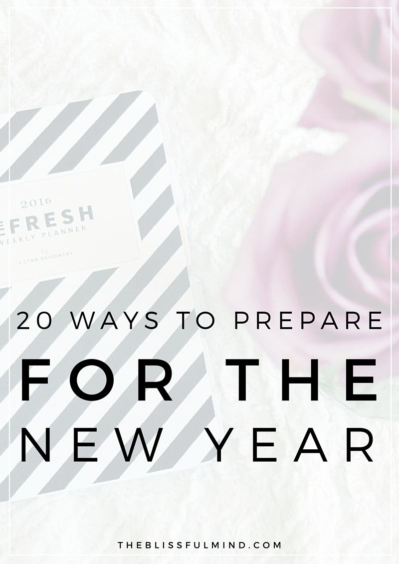 20 Ways To Reset, Reflect, And Refresh For The New Year | Dream big ...