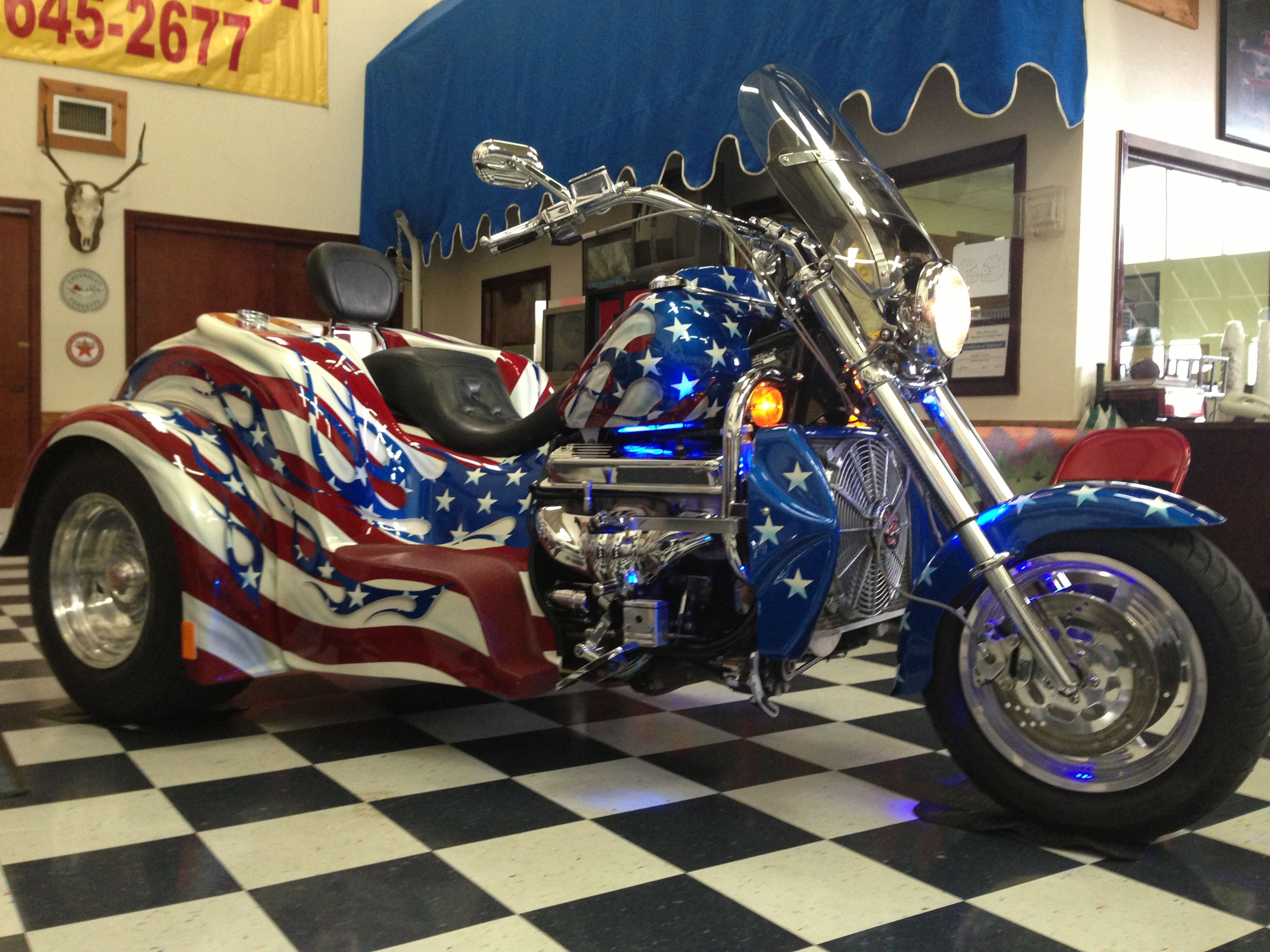 BOSS HOSS Trike | Trikes and 3 Wheelers | Harley davidson