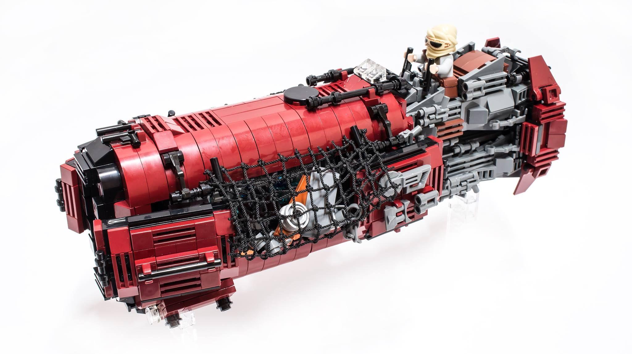 Rey's Speeder MOC   I ♥ Lego MOC   Pinterest   Lego, Legos ...