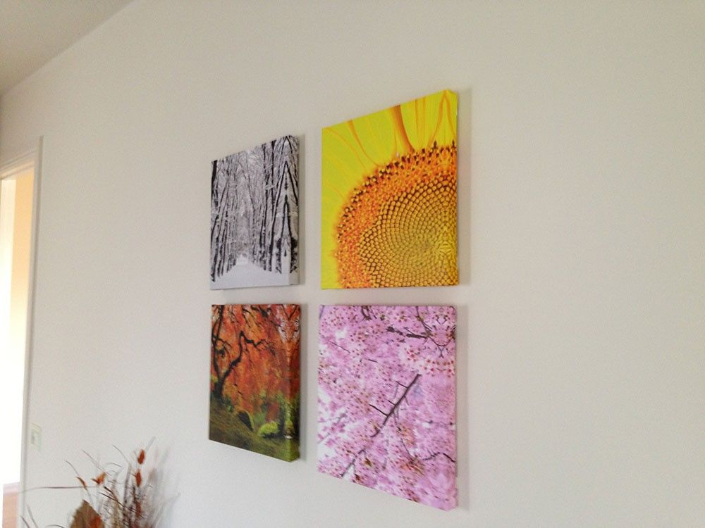 This Canvas Wall Art Is Called The Four Seasons Purecanvas Canvasart Wallart Go To Www Purecanvas Com And Use Coup Cool Photo Effects Canvas Wall Art Art