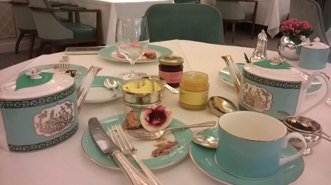 Tea for two at Fortnum &Mason .....