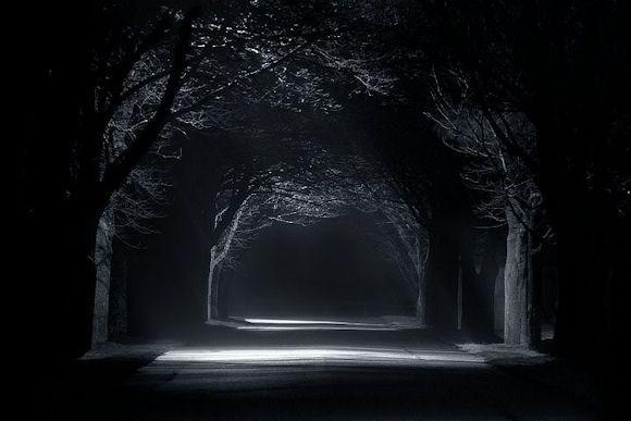 strade di notte