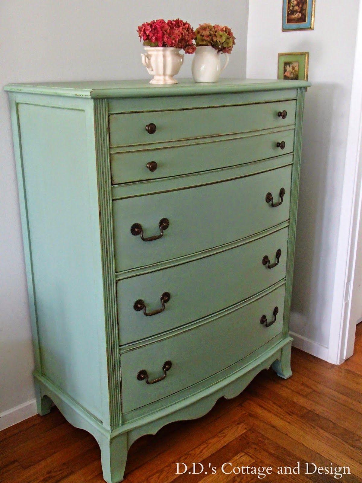D S Cottage And Design Green Dresser
