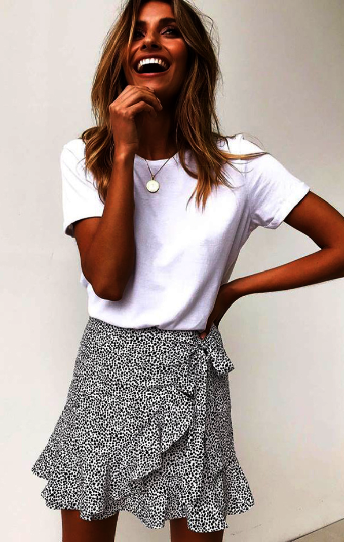 Getfitnesshelp Com Tulip Skirt Summer Work Outfits Skirt Fashion