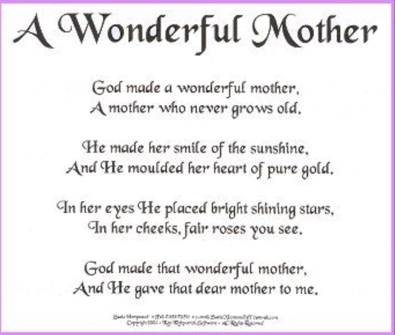Pin By Sue Furnace Stearns On Words Mom Poems Mom
