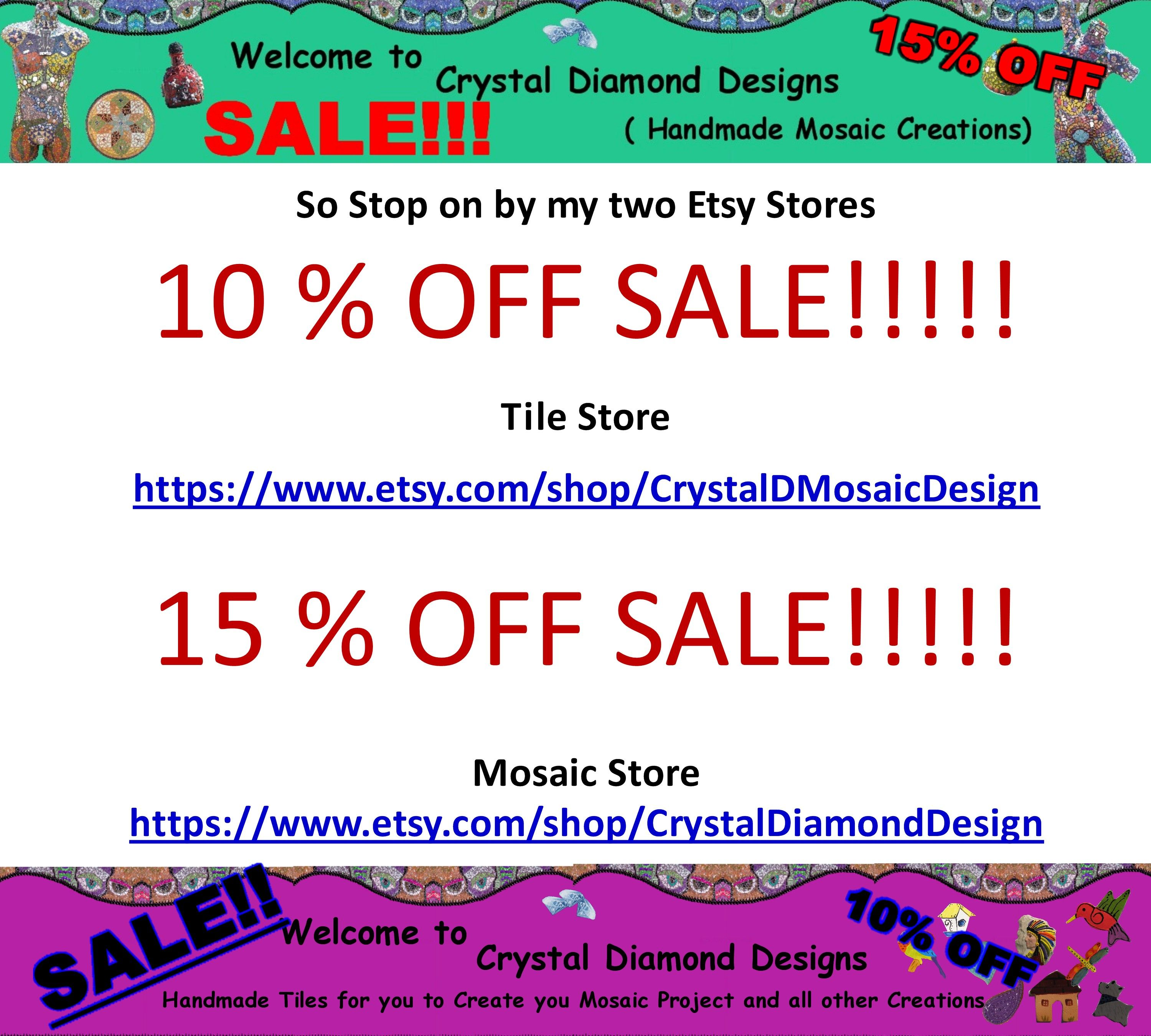 Early Black Friday SALE!!So Stop on by my two Etsy Stores Tile ...