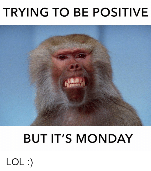 Positive Happy Monday Memes