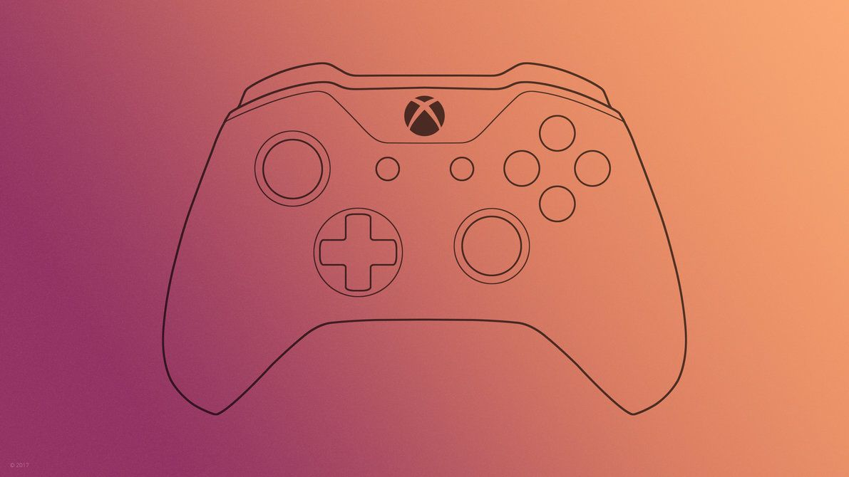 Xbox One Controller Wallpaper By Ljdesigner On Deviantart With