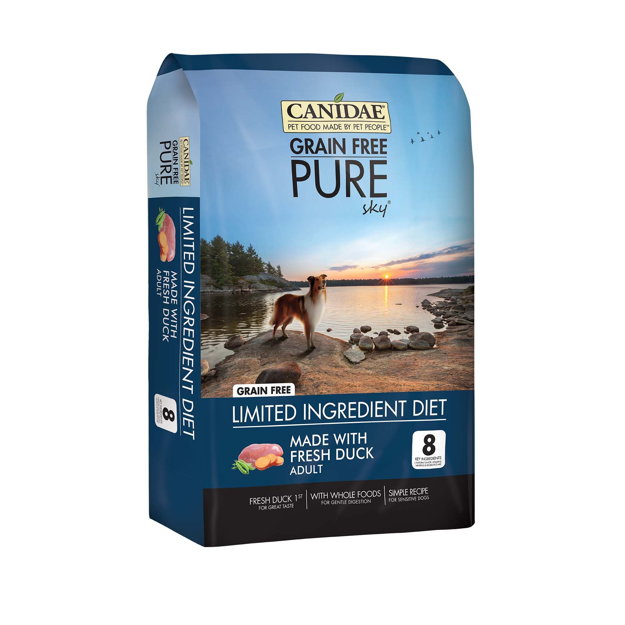 Canidae pure grain free limited ingredient real duck
