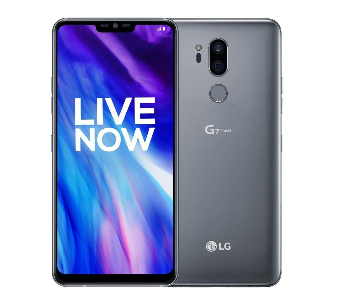 Lg G7 Thinq Platinum Grey 4gb Ram 64gb Storage In 2020 Platinum Grey 4g Lte 4gb Ram
