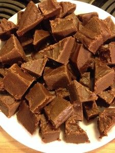 Peanut Butter- Chocolate Fudge – Easy!