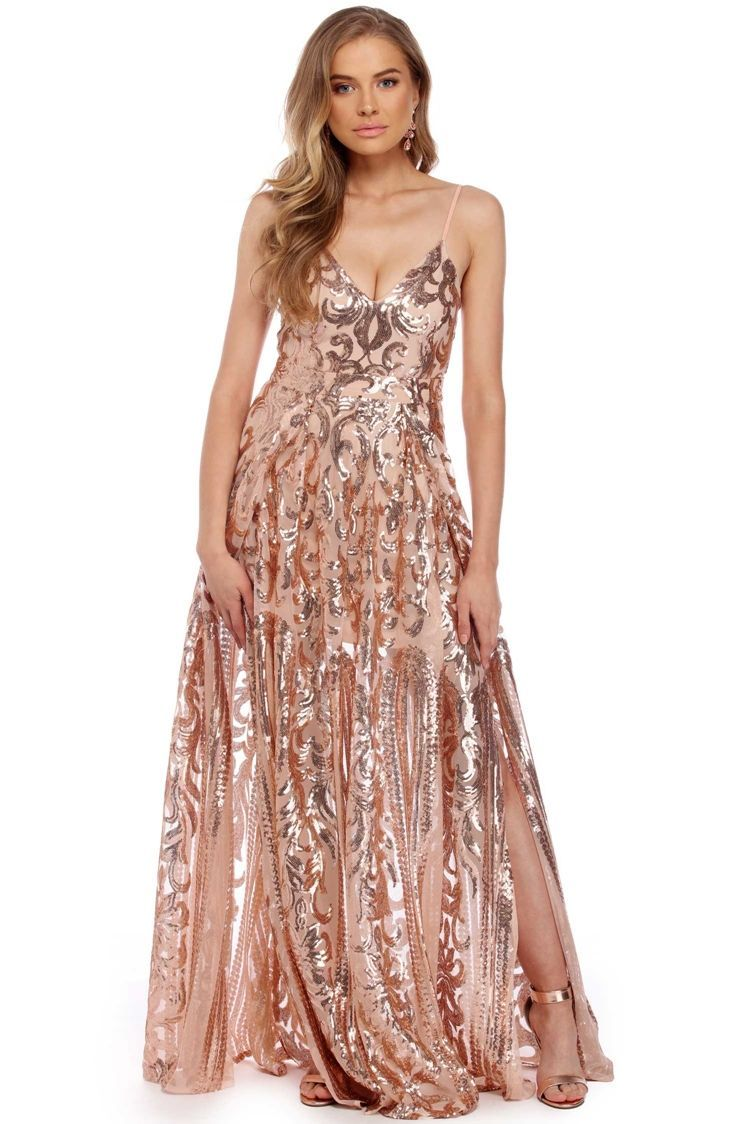 Grace rose gold princess dress prom dresses pinterest rose
