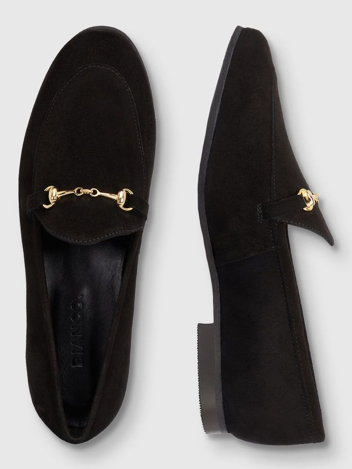 DRESS HORSEBIT LOAFERS, Black