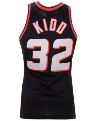 super popular f8f50 500b4 Mitchell & Ness Men Jason Kidd Phoenix Suns Authentic Jersey ...