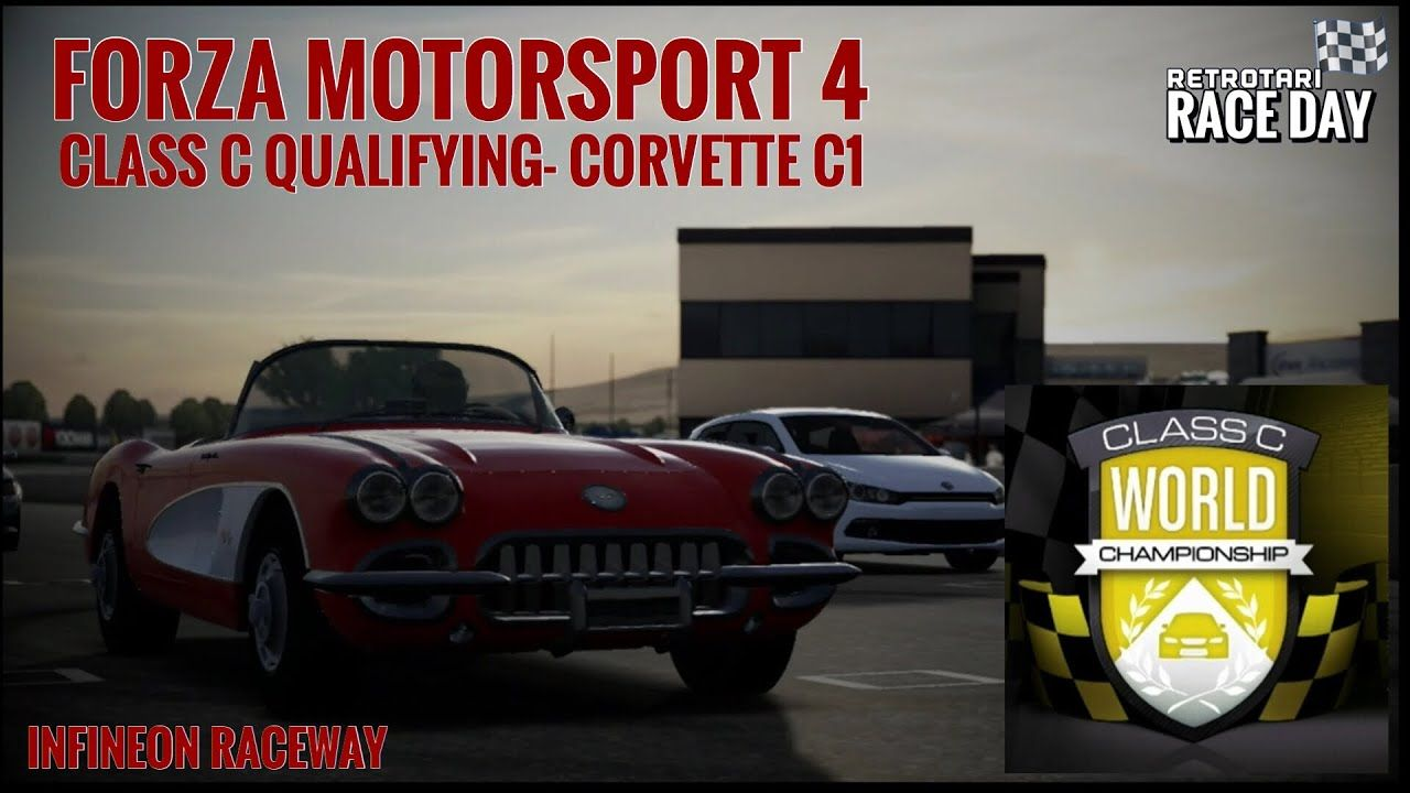 Forza Motorsport 4 Class C Qualifying @ Infineon Raceway - YouTube ...