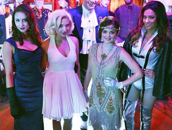 pretty little liars costumes diy group ideas for halloween 2013 - Group Diy Halloween Costumes