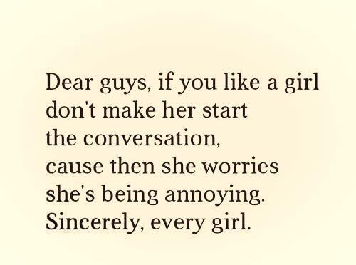 best lines to start a conversation with a girl